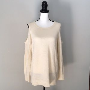 Sweaters - Kenzie Cold Shoulder Sweater